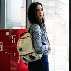 plecaczek dla dziewczynki