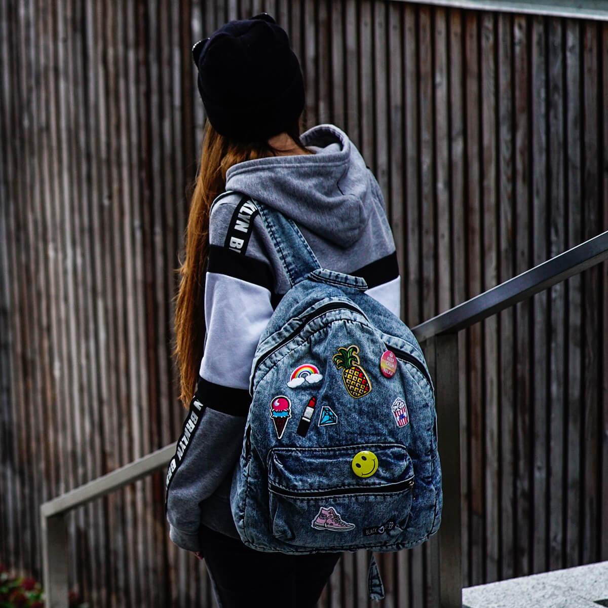 ab1db4dc6fa6c Plecaki jeansowe, plecaki oldschool | Sklep internetowy Brytyjka
