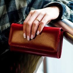 portfele damskie duże