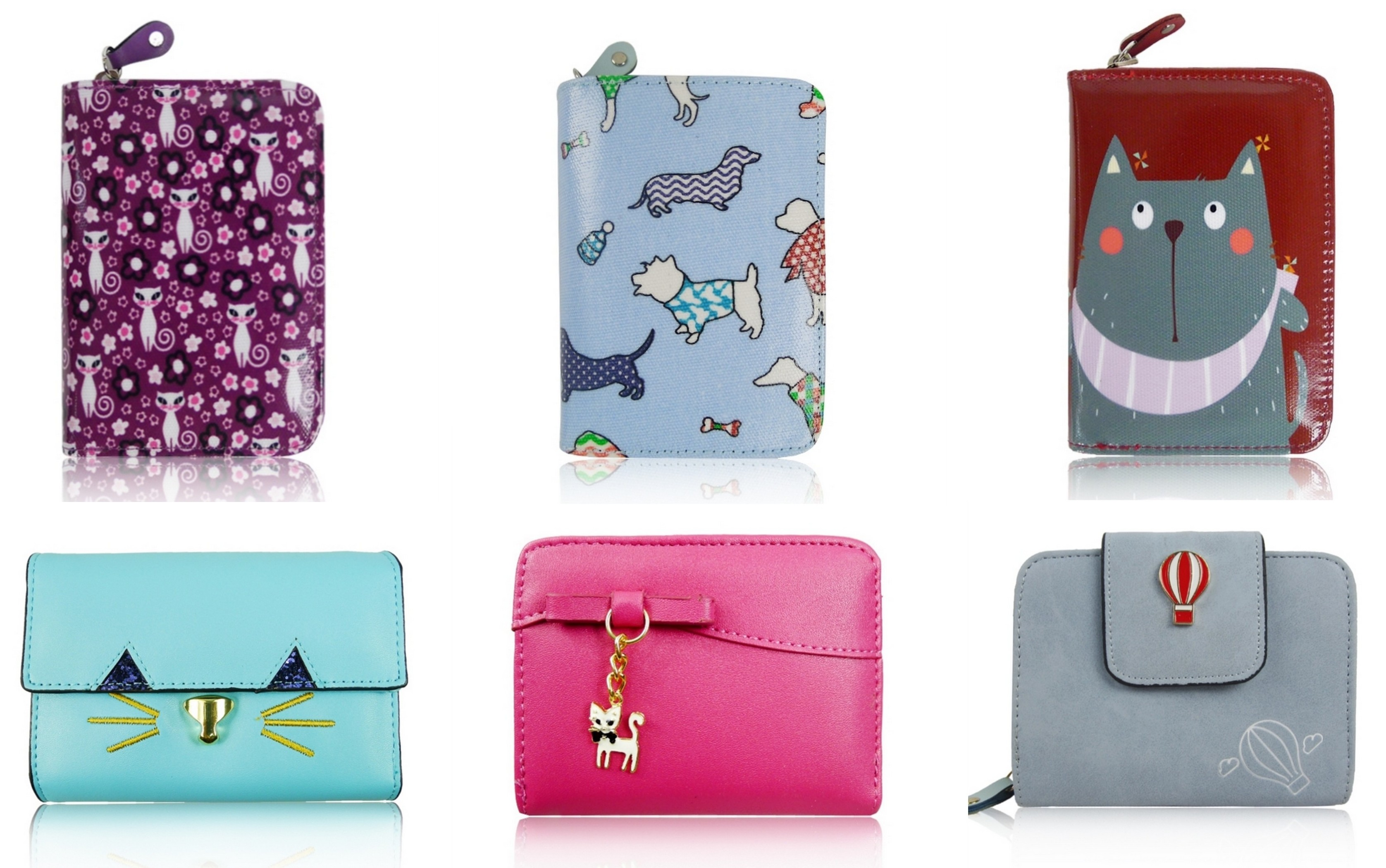 cb47ec9473871 Mały portfel dla dziewczynki i klasyczny damski