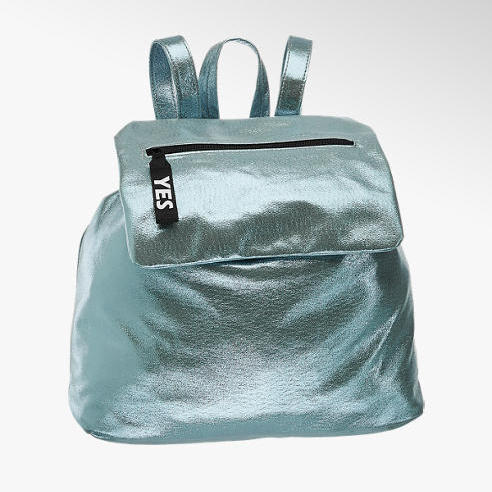 metaliczny plecak deichmann