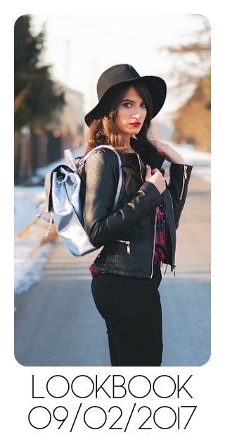 bloggers sandina silver backpack