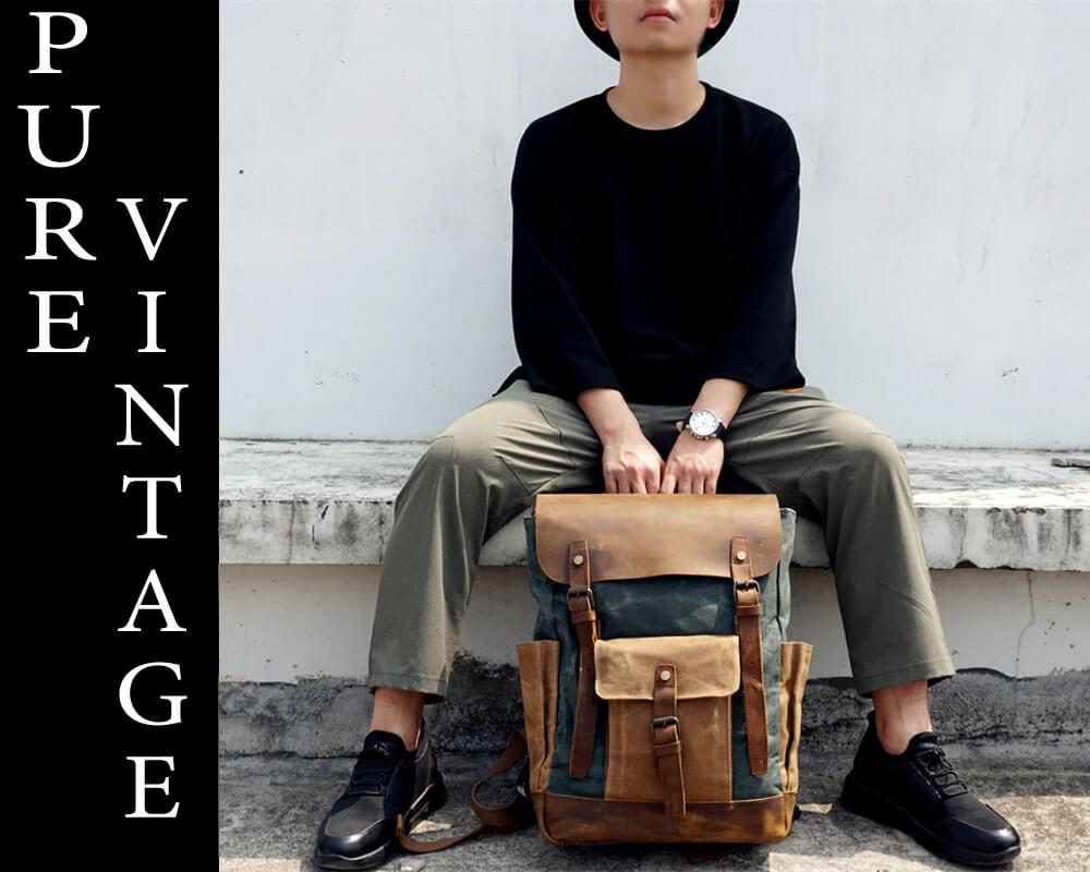 czy plecak vintage nadaje się do szkoly