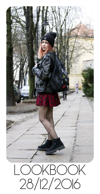 lookbook olabrzeska black sheep backpack