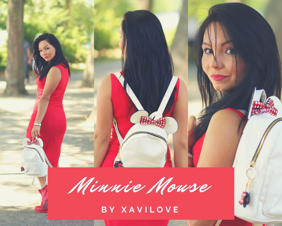 xavilove blog plecak minnie mouse