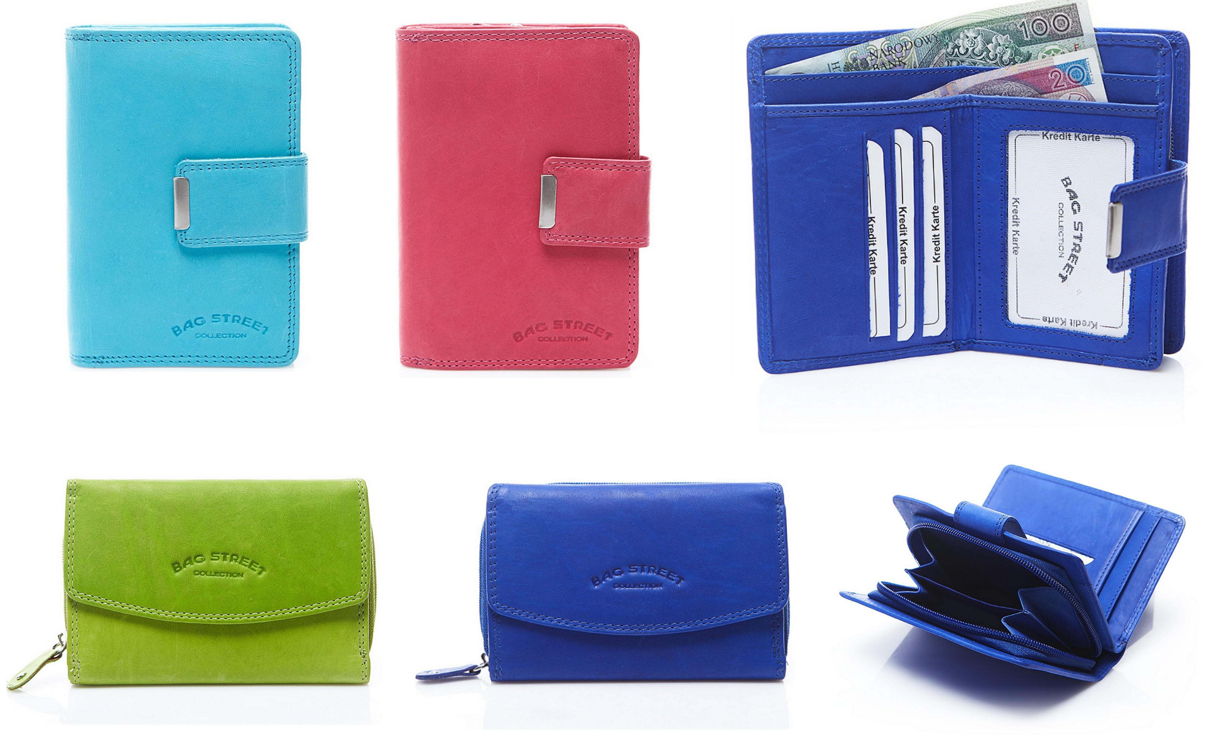 małe portfele skórzane
