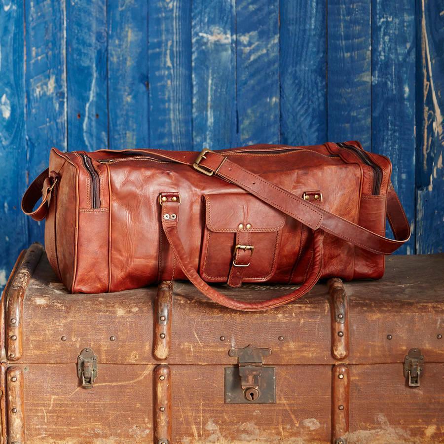 torby skórzane weekendowe