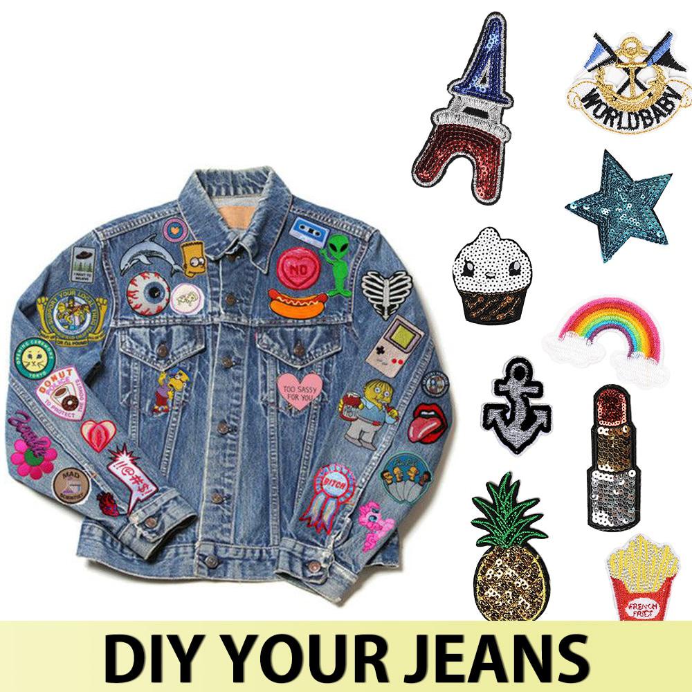 naszywki na jeans