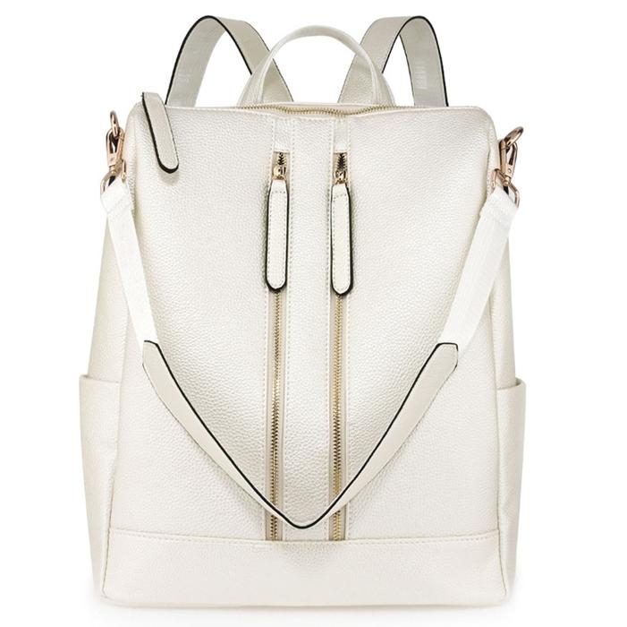 plecak i torba biały
