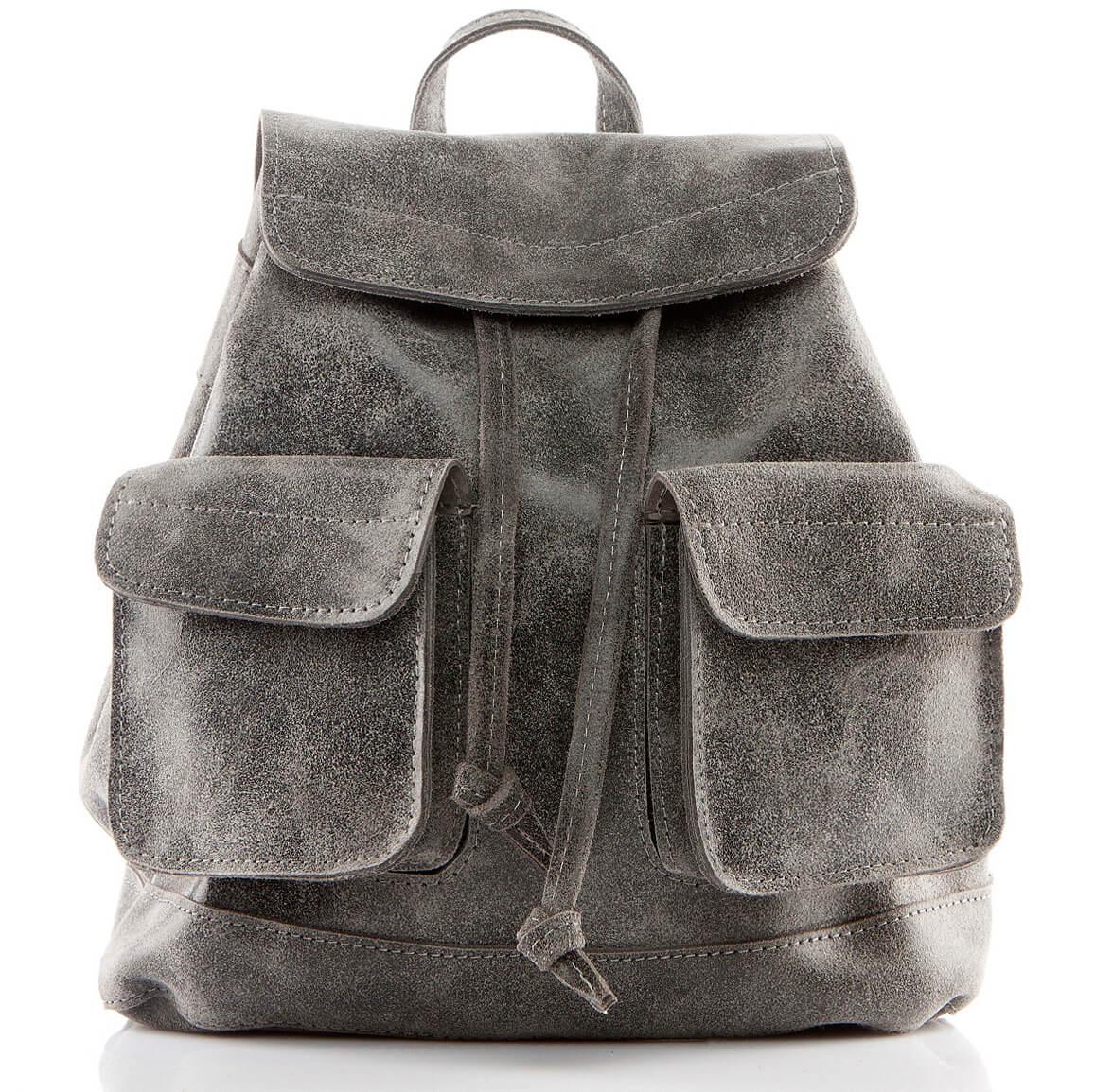 plecak skórzany vintage