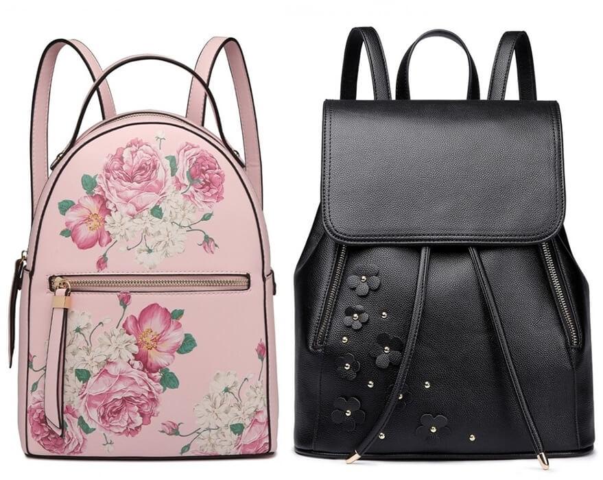 plecaki w kwiaty