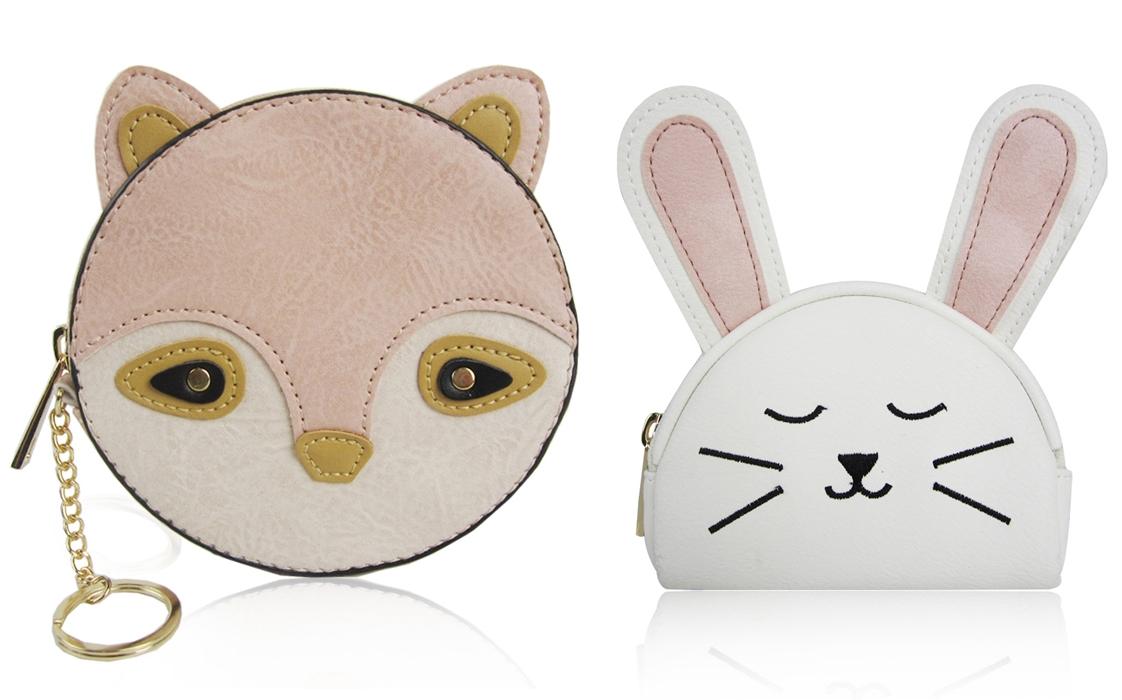portfel dziecięcy lisek króliczek