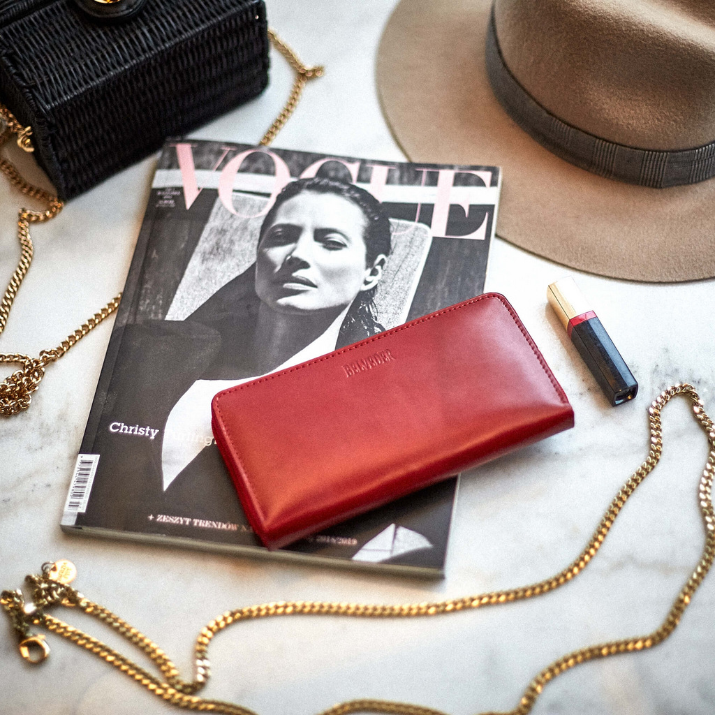 portfele damskie modne