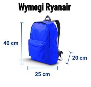 Ryanair plecak do samolotu