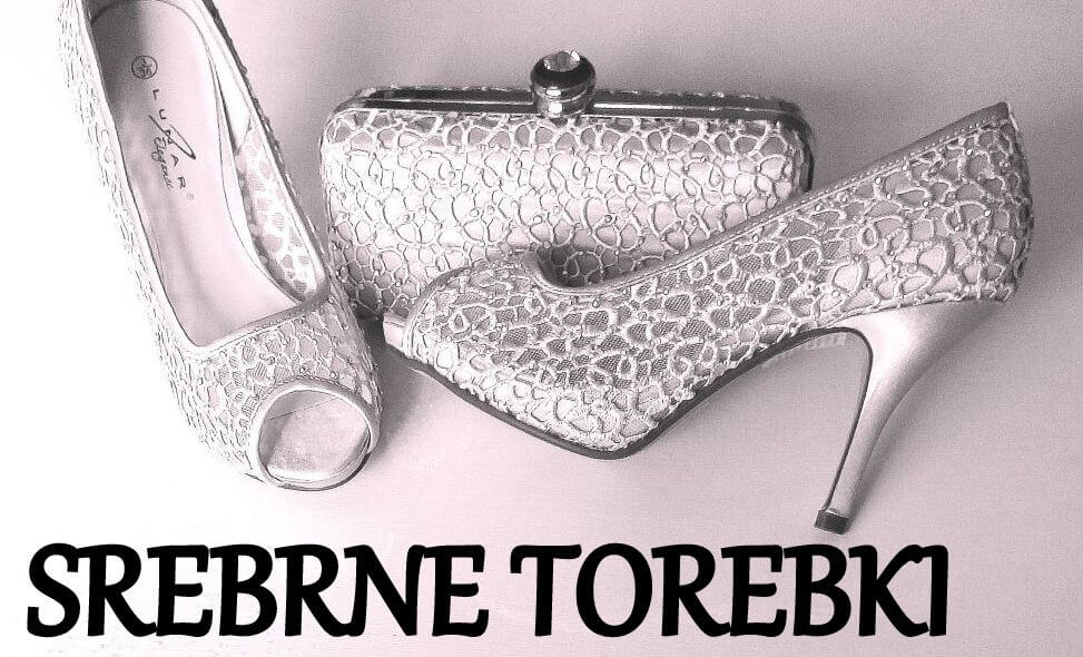 srebrne torebki