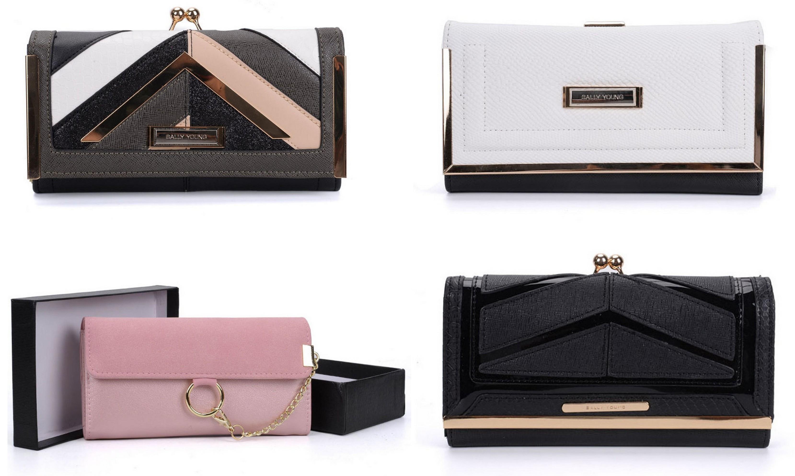 tanie modne portfele damskie