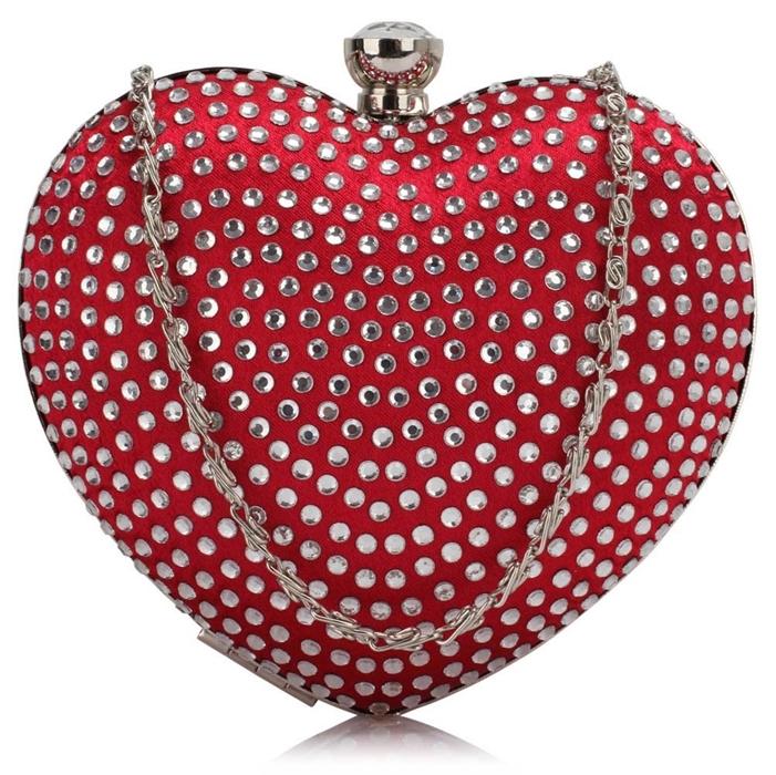 puzderko czerwone serce
