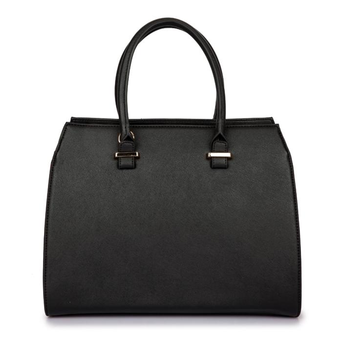 18afe5c193c9f Klasyczna torebka kuferek Emily Black