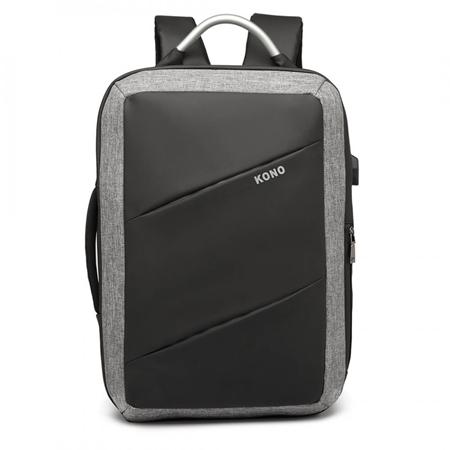 f2ed8eec08245 Plecak torba 2w1 na laptopa 15,6 Bastion