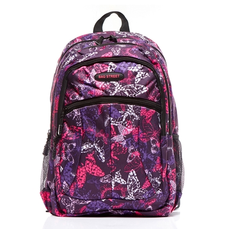2bed77b9f650f Plecak szkolny dla dziewczyny Butterfly BS76