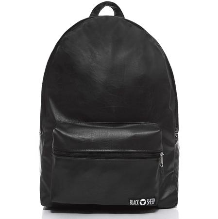 36a8b1ca55159 Plecak czarny skórzany Black Sheep BF1