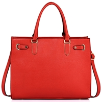 Czerwona torba shopper bag Alexandria