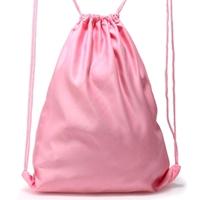 d525c3d2dc ... Różowy plecak worek na sznurkach BASIC