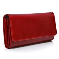 d8b57fb210b0c ... Duży portfel damski skórzany czerwony BW59