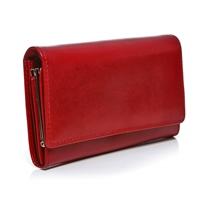 5086e391d223f ... Czerwony portfel damski skórzany MID BW53