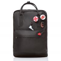 90b6924870715 ... Plecak vintage czarny płócienny CLASSIC31
